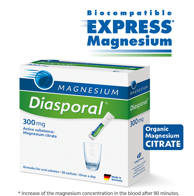 Mg-Diasporal 300 mg, granules for oral solution